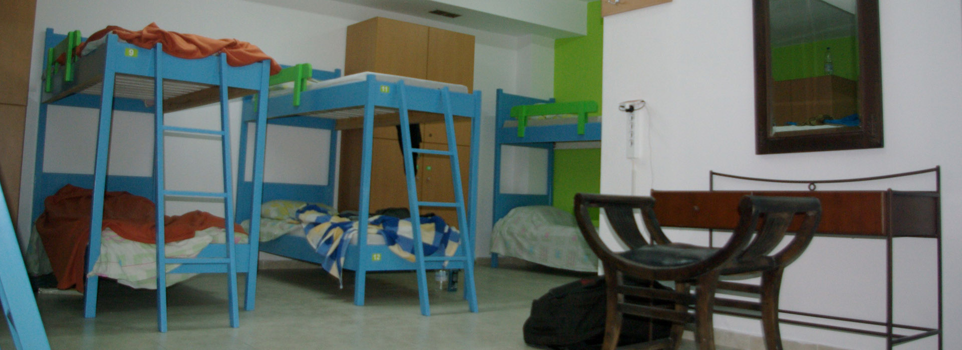 <small>SHARED ROOMS</small>WITH BUNK BEDS